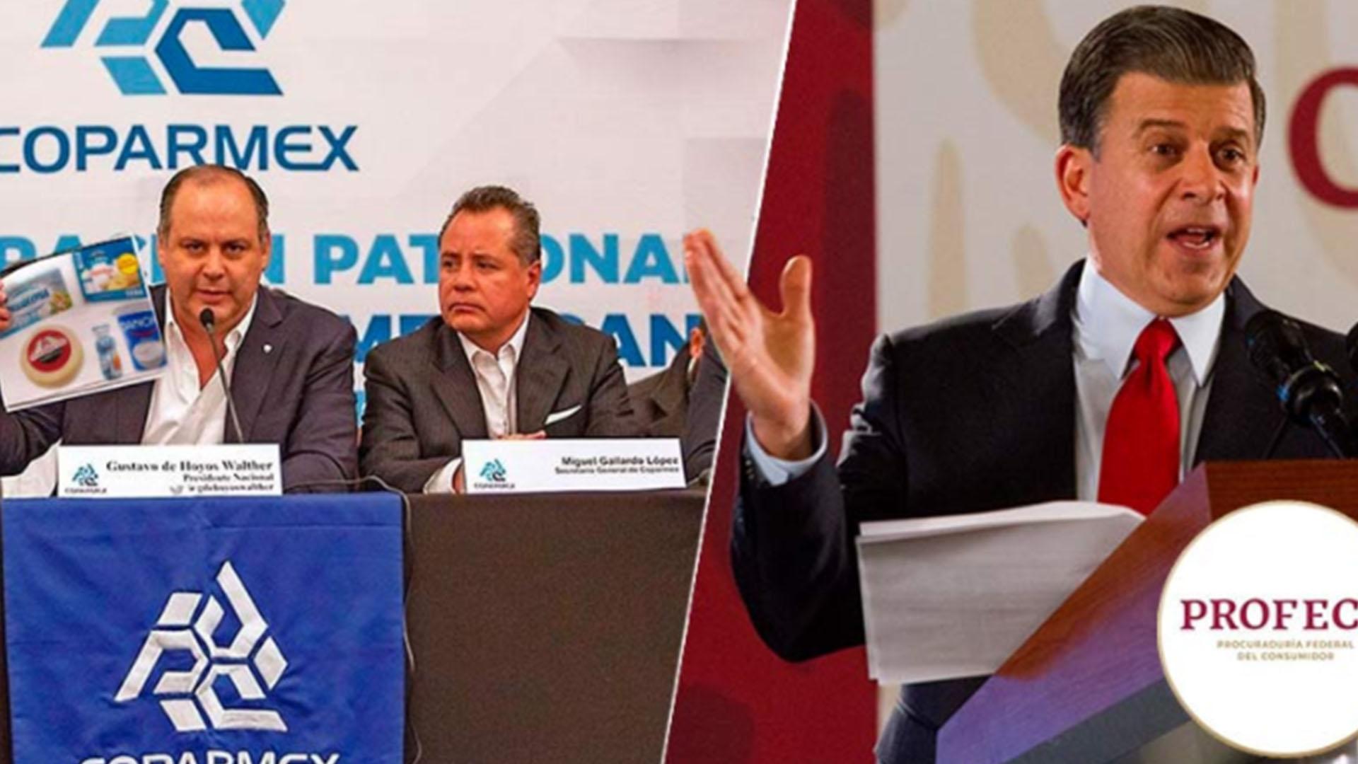 Está dañando la reputación de las empresas: La Coparmex se lanza contra la 4T por suspender venta de quesos y yogurt con etiquetados engañosos