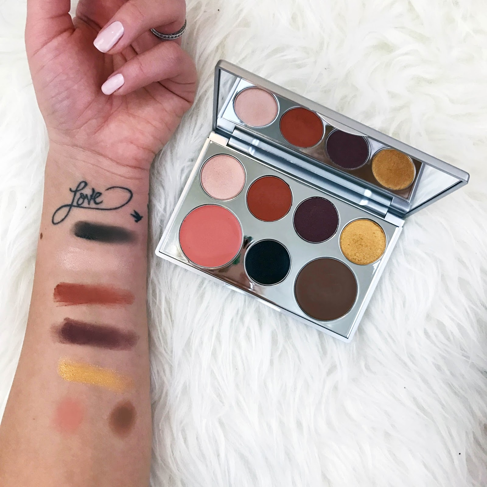 Pür cosmetics transformation palette