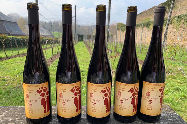 Abbaye de Villers Abbey Winery Vignoble Vineyard