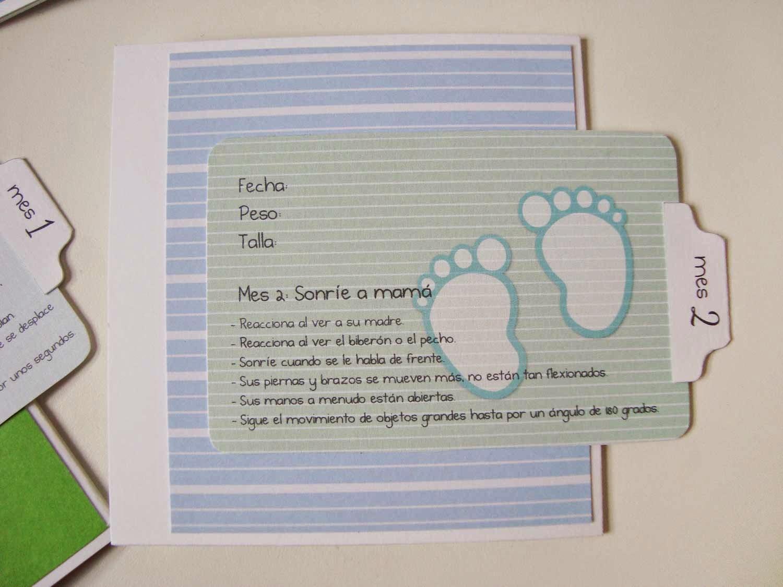 Mini Album Baby_hojas