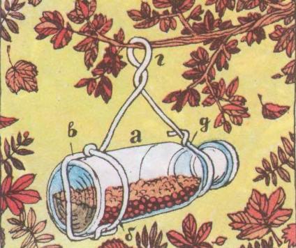 Кормушка бутылка