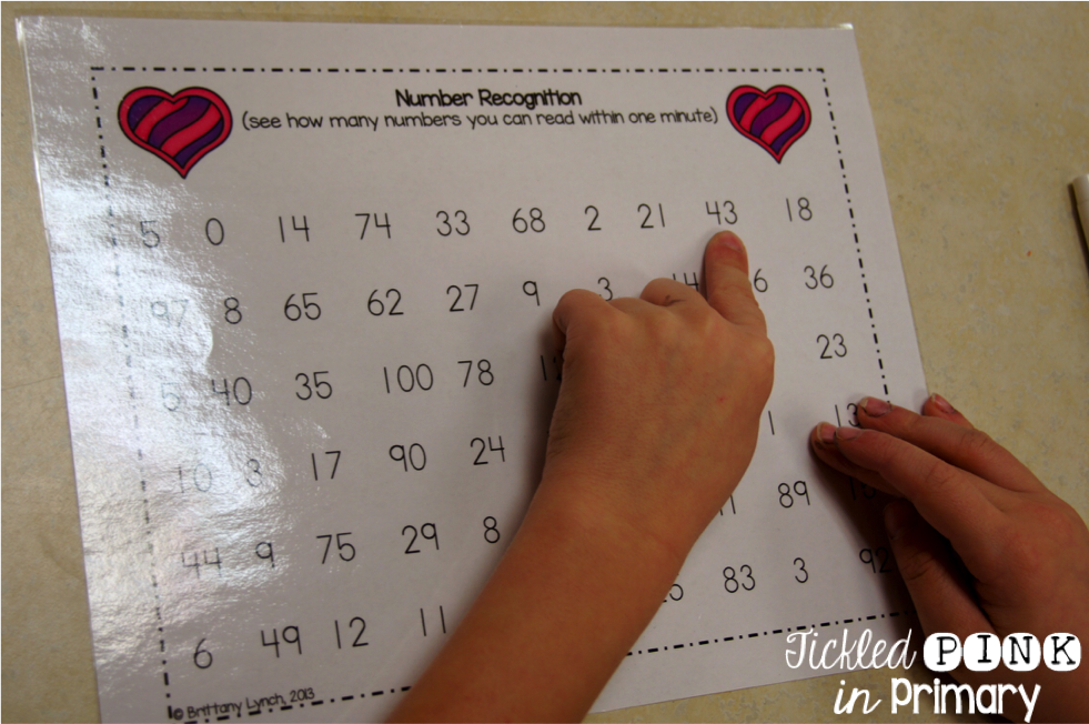 mClass Math Activities - Number  Recognition