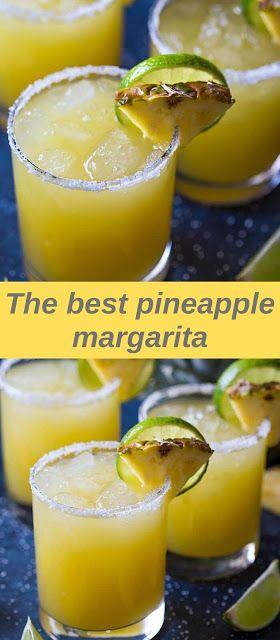The best pineapple margarita