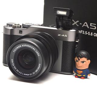 Kamera Mirrorless Fujifilm X-A5 TouchScreen Fullset