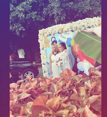 r1 - Images from Regina Daniels and Ned Nwoko's son naming ceremony...