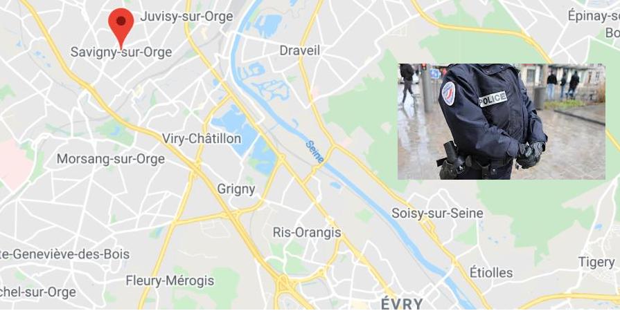 Essonne (91) : renversé lors d'un contrôle routier, un policier entre la vie et la mort