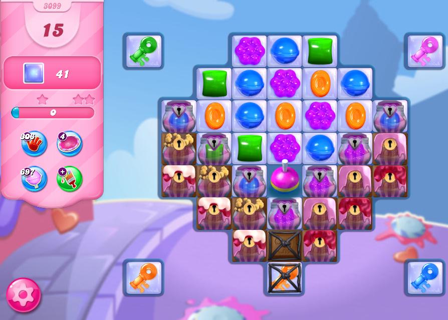 Candy Crush Saga level 3099
