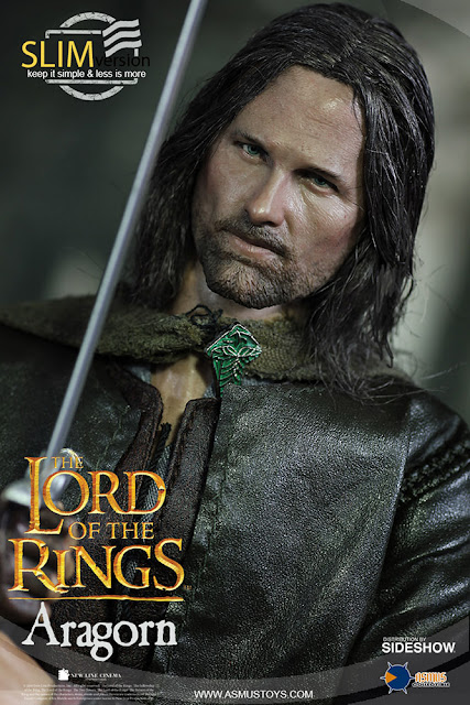osw.zone Asmus Toys 1 / 6. Scale Lord of the Rings Aragorn (Slim Version) 12-inch Actionfigur