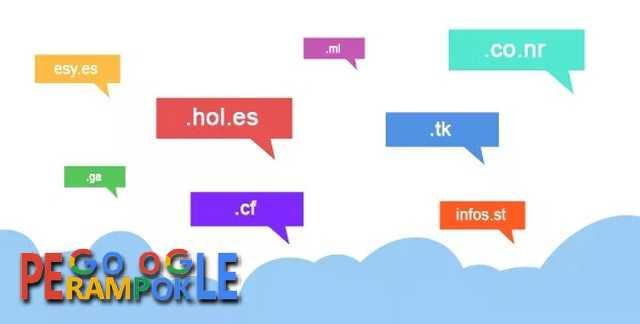 Beberapa situs penyedia domain gratis selamanya