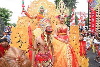 Karnaval Pandhalungan Tampilkan Kekhasan Jember
