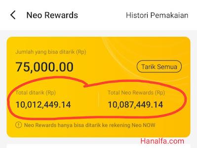 cara nuyul APK Neo+ Plus penghasil uang dengan undang teman dan ambil hadiah harian terbukti dapat Rp10 juta