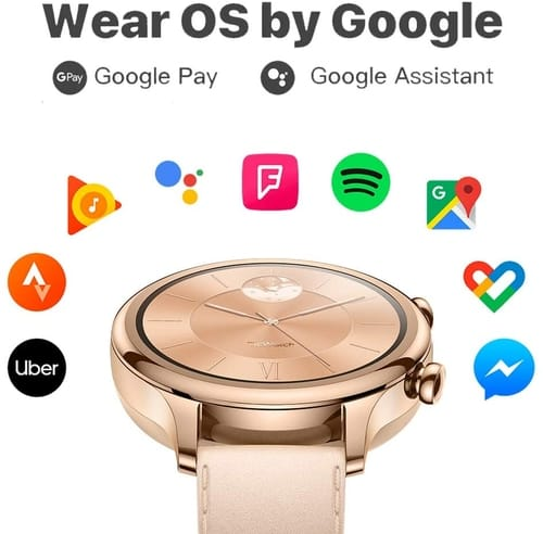 TicWatch C2-1 Rosegold-1Design Fashion smartwatch