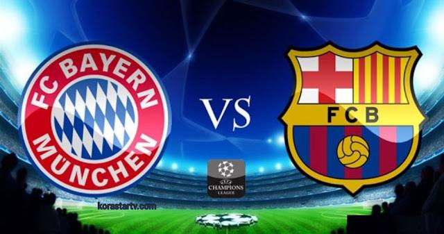 مباراة برشلونة وبايرن ميونخ بث مباشر