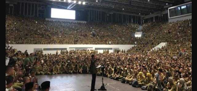 Presiden Jokowi Bertemu Persatuan Perangkat Desa Indonesia