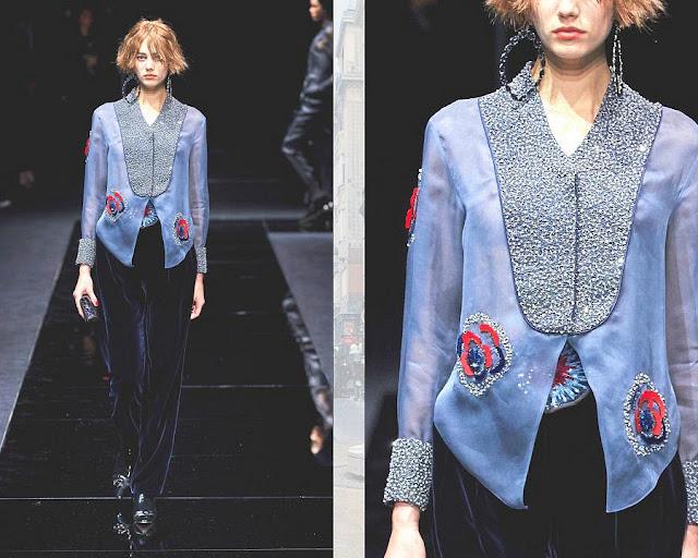 Giorgio Armani показ моды Pre-Fall 2020 8