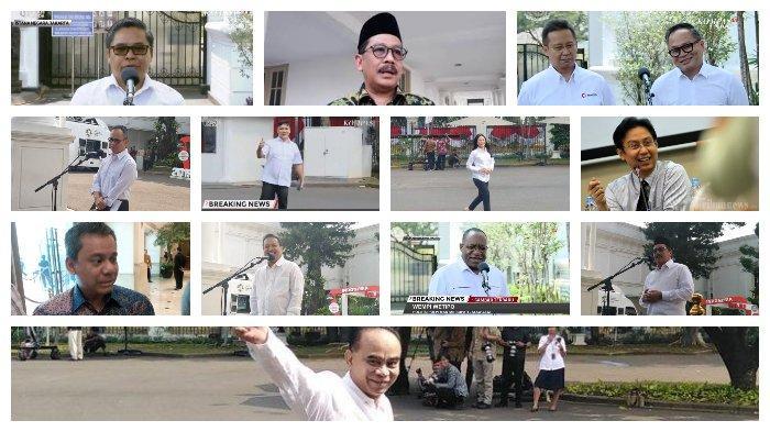 Daftar Menteri Jokowi yang Kinerjanya Tidak Memuaskan Menurut Survei Fixpoll
