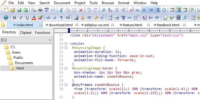 تحميل برنامج EditPlus 5.3 Build 3326 محرر نصوص قوي يقدم العديد من الميزات المفيدة للمبرمجين والمطورين