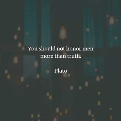 Famous quotes and sayings by Plato