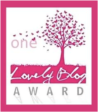 Premio Lovely Blog