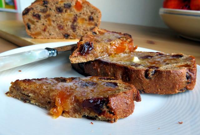 Bran & Fruit Breakfast Bread
