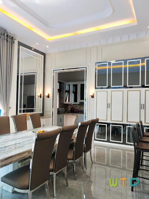 Desain Ruang Makan Modern Klasik