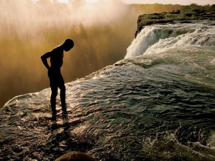 6. The Devil's Pool, Victoria Falls, Zambia - Top 10 Natural Pools