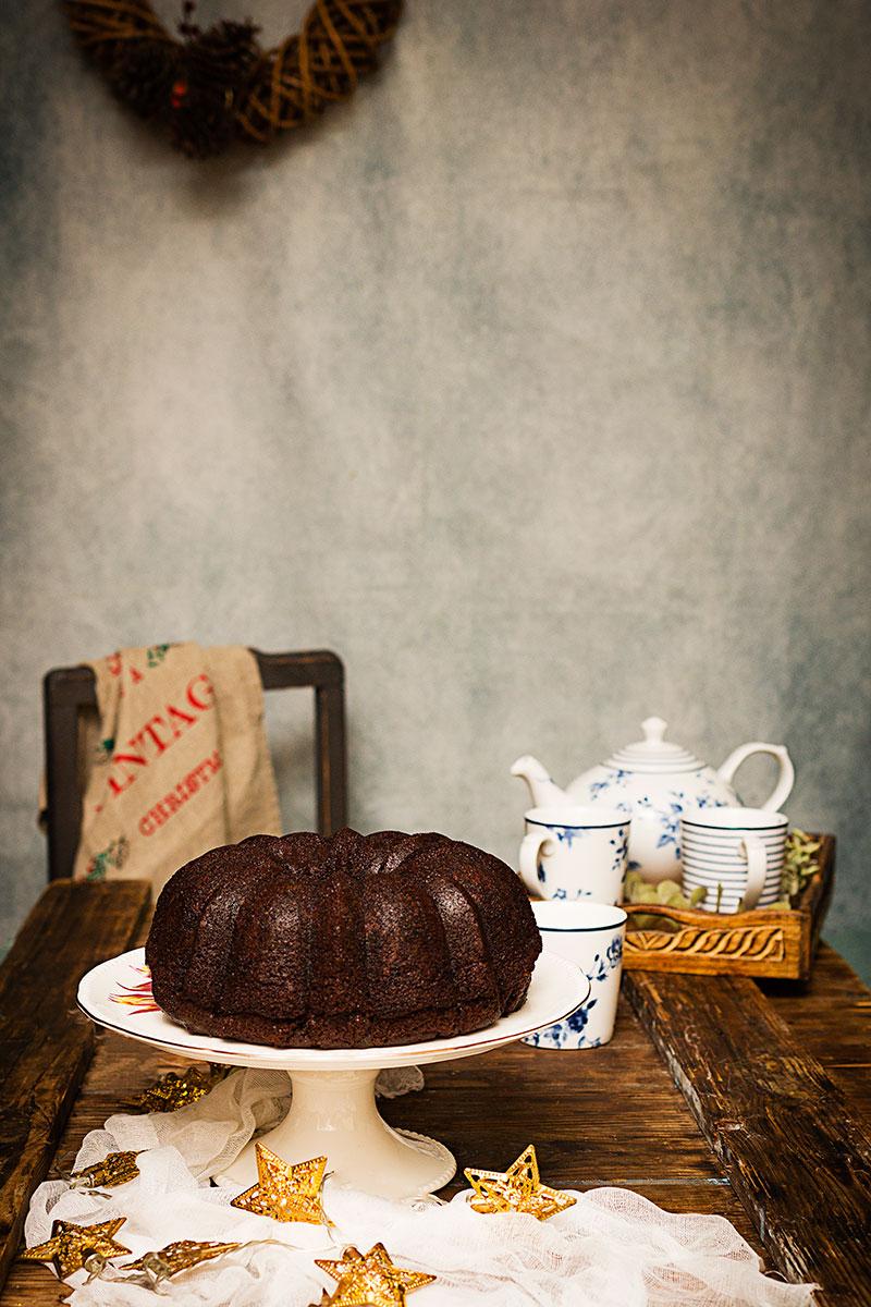 BUNDT CAKE CHOCOLATE Y CRÈME FRAÎCHE