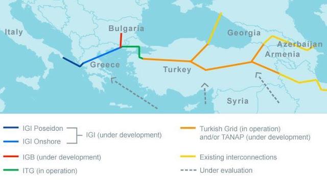 Η Ελλάδα Ενεργειακός κόμβος της Ευρώπης