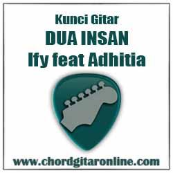 Chord Kunci Gitar DUA INSAN Ify Alyssa feat Adhitia Sofyan