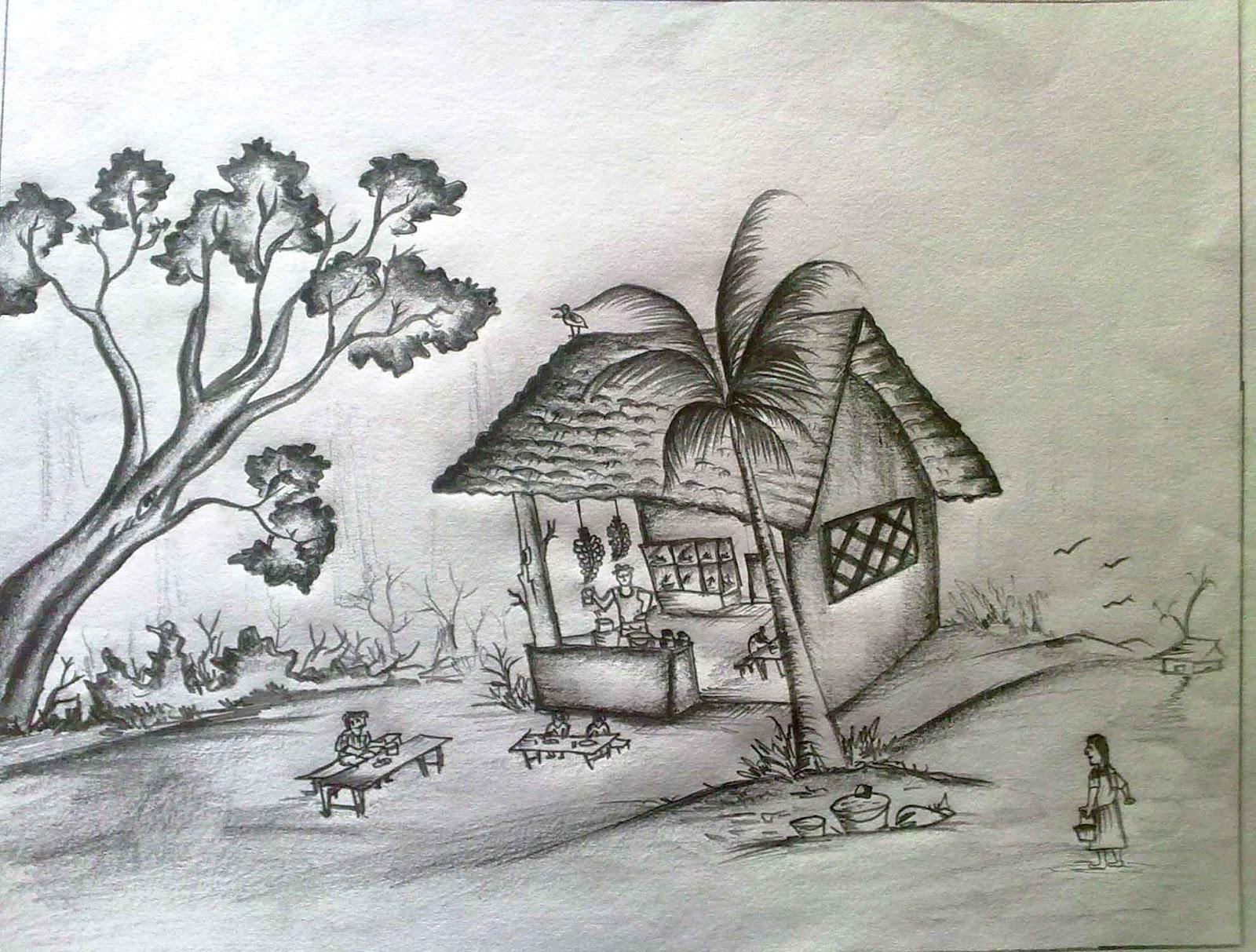 Pencil drawing competition www vpkmmhss blogspot com