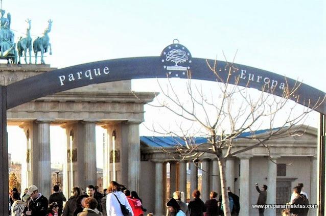 Entrada Parque Europa de Torrejón gratis