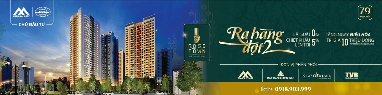 Ra hàng đợt 2 Rose Town