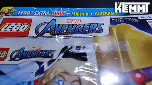 LEGO® Avengers Magazin Nr. 5 - www.dasklemmt.de