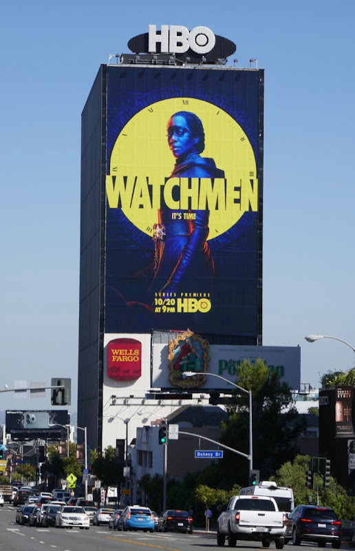 Giant Watchmen season 1 billboard Sunset Strip