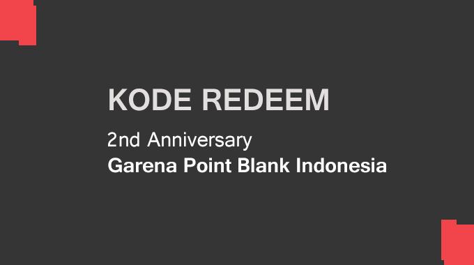 Kode Redeem Kotak Ultah PB Garena Indonesia 30 Juni 2017