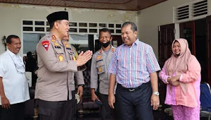 Kapolda NTB Kunjungi dan Silaturahmi Di Kediaman Mantan Walikota Bima HMQ.