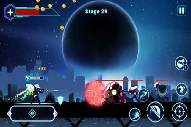 تحميل Stickman Ghost 2 Galaxy Wars مهكرة