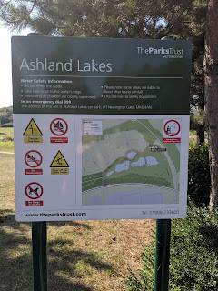 Sign at Ashland Lakes