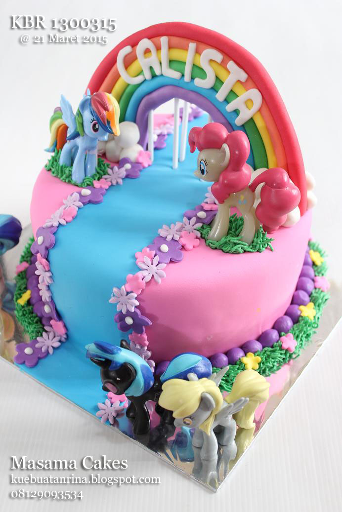 Masama Cakes Little Pony Birthday Cake For Calista