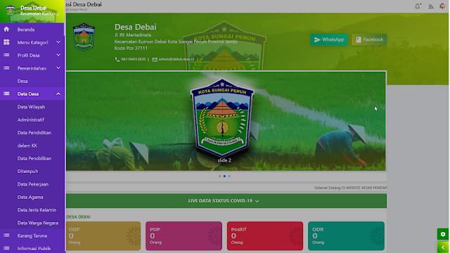 Download Tema Premium Denatra OPENSID