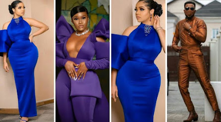 """See How Nengi & Other Stars Battle For Best Dressed At Rita Dominic's Movie """"La Femme Anjola"""" Premiere"""