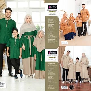 Koleksi Sarimbit keluarga muslim terbaru Zenitha Sakinah
