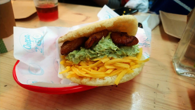 Arepa2Go at Outside-In Food Court, Portsmouth