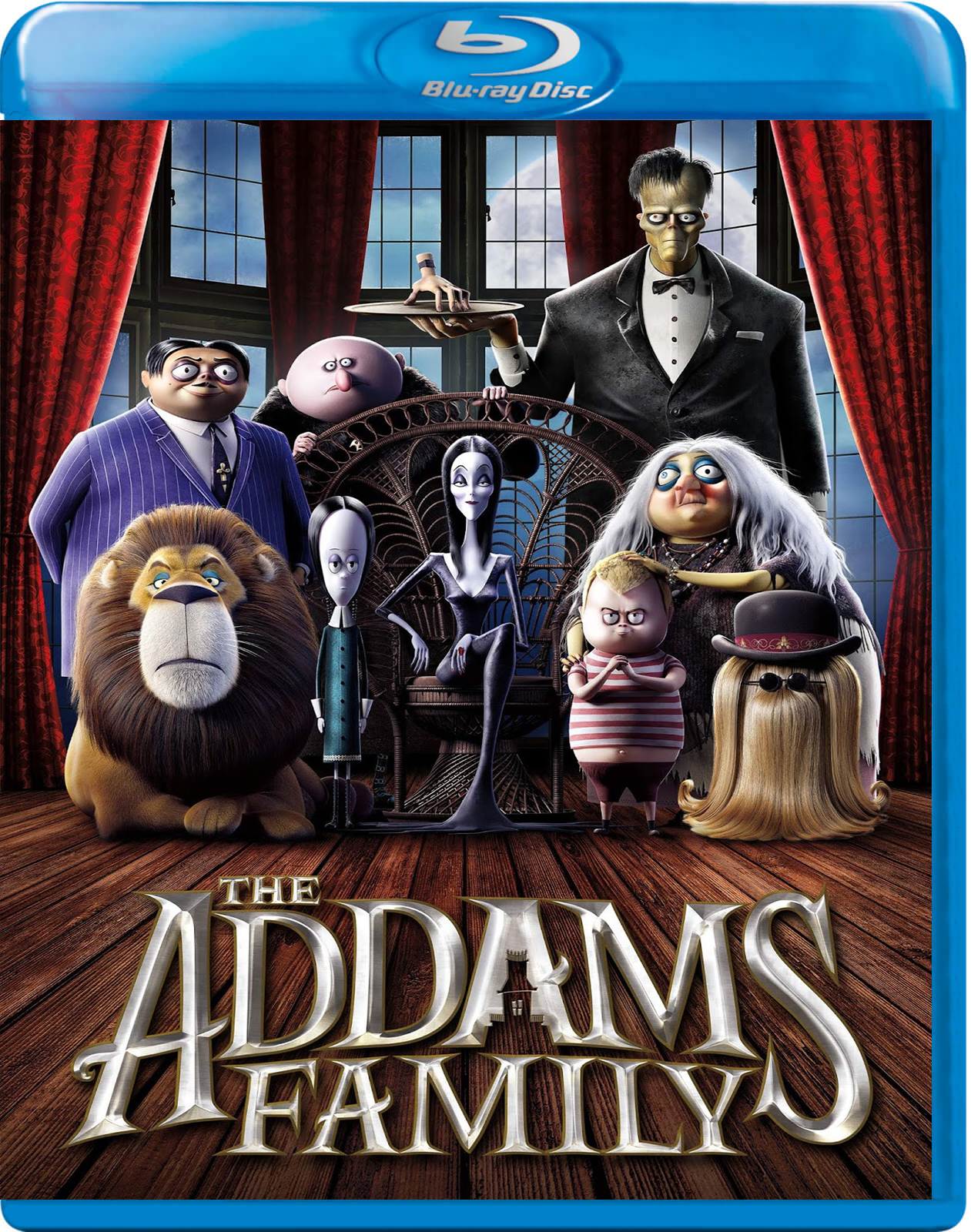 The Addams Family [2019] [BD50] [Latino]