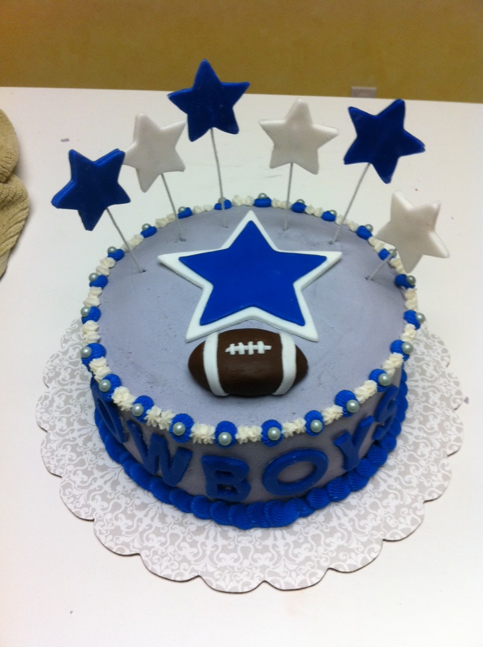 Dallas Cowboys Jersey Cake Custom Cakes Virginia Beach Va Bakery