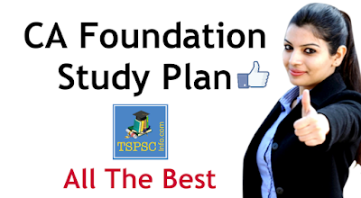 CA Foundation Study Plan an Study Material for CA Foundation
