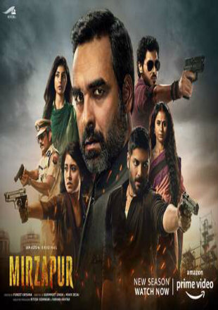 Mirzapur 2020 (Season 2) All Episodes HDRip 720p ESub