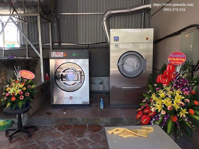 Lắp đặt máy giặt chăn công nghiệp tại Từ Sơn – Bắc Ninh.