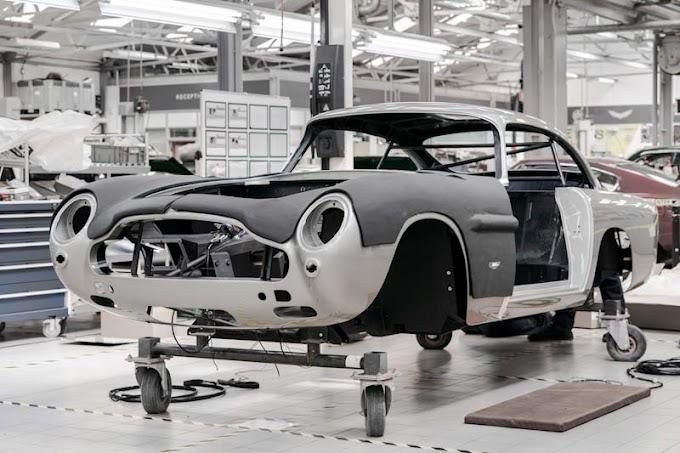 Aston Martin DB5 returns to production.