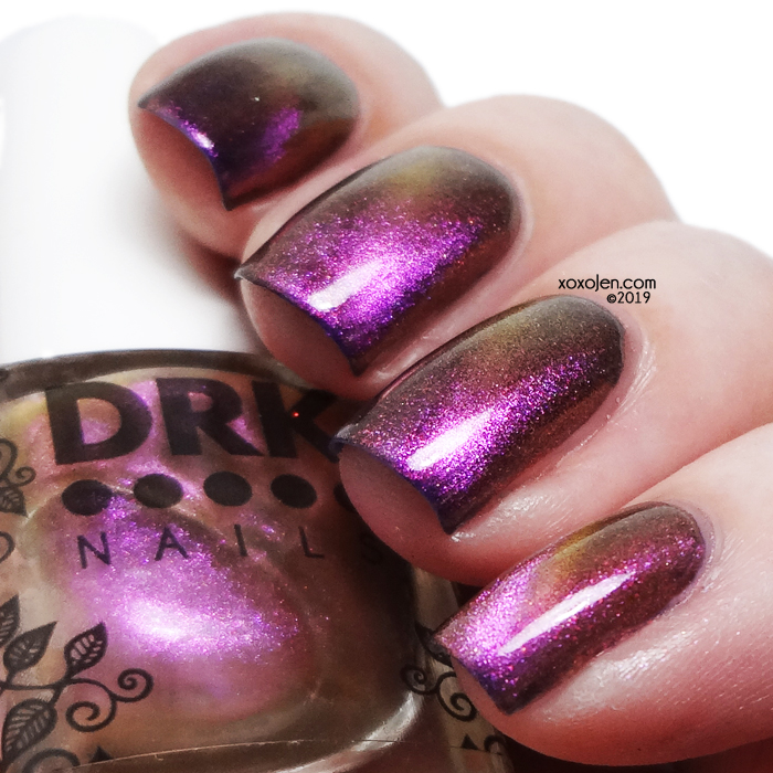 xoxoJen's swatch of DRK Nails The Girls